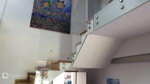 Balustrada schodowa wewnętrzna